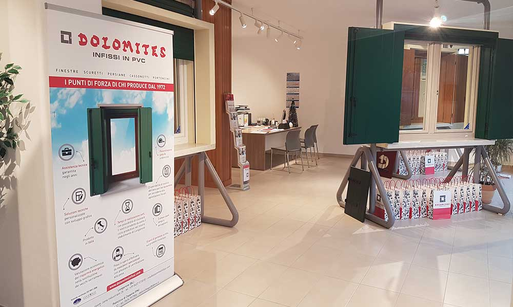 Showroom porte PVC San Donà